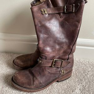 FREEBIRD Frank Brown Leather Boots Womens Size 7.5